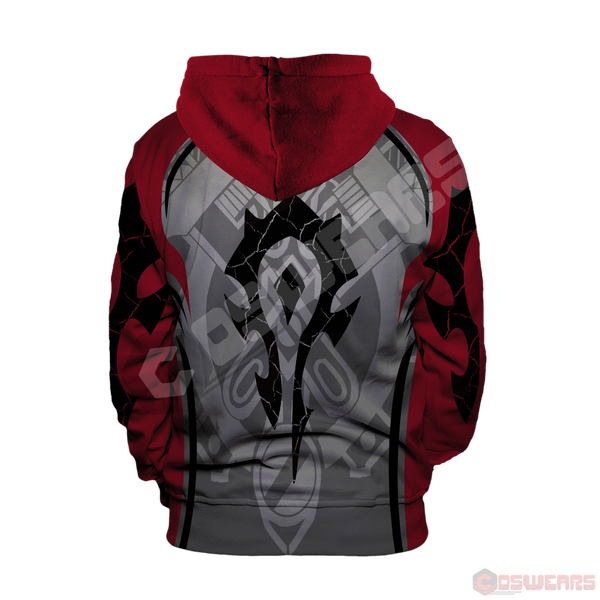 Warcraft : For The Horde Pullover Hoodie