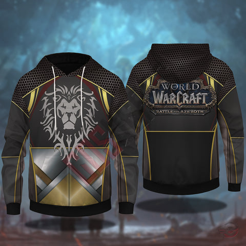 Warcraft Battle For Azeroth Pullover Hoodie