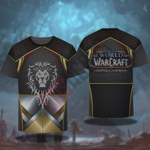 Warcraft Battle For Azeroth T-Shirt