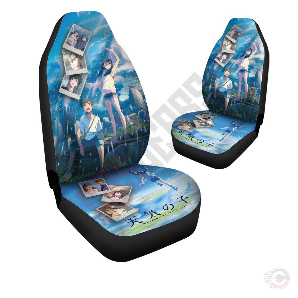 Astounding Weathering With You Hodaka And Hina Inspired Car Seat Cover Pdpeps Interior Chair Design Pdpepsorg
