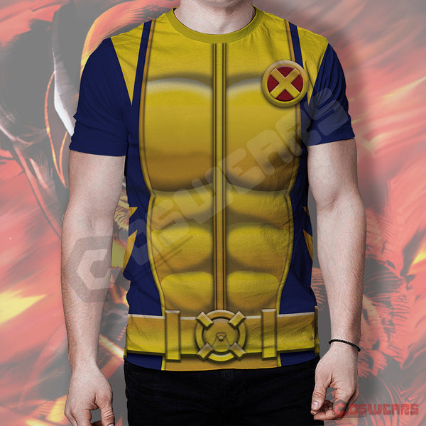 X-Men Wolverine Inspired T-Shirt