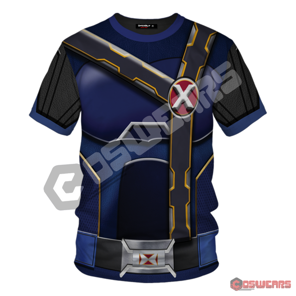 X-Men Cyclops Inspired T-Shirt