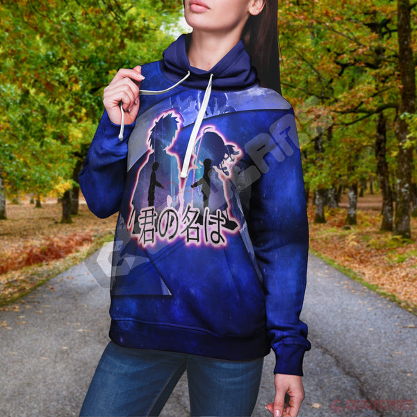 Your Name : Kimi No Namae Pullover Hoodie