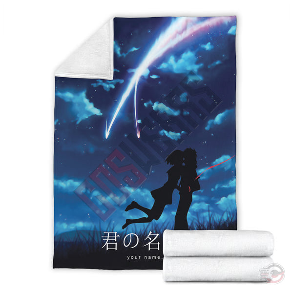 Your Name : Taki And Mitsuha Blanket