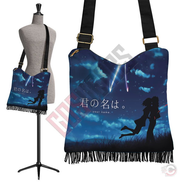 Your Name : Taki And Mitsuha Boho Bag