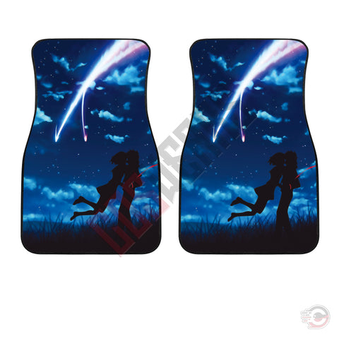 Your Name : Taki And Mitsuha Car Floor Mat