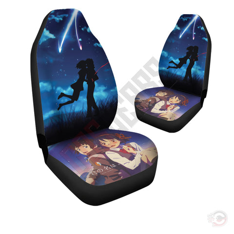 Your Name : Taki And Mitsuha Car Seat Cover