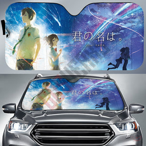 Your Name : Kimi No Namae Car Sun Shade