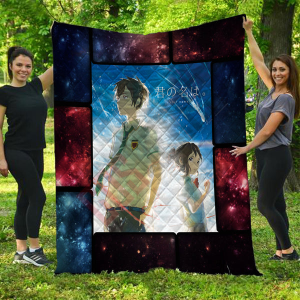 Your Name : Kimi No Namae Quilt