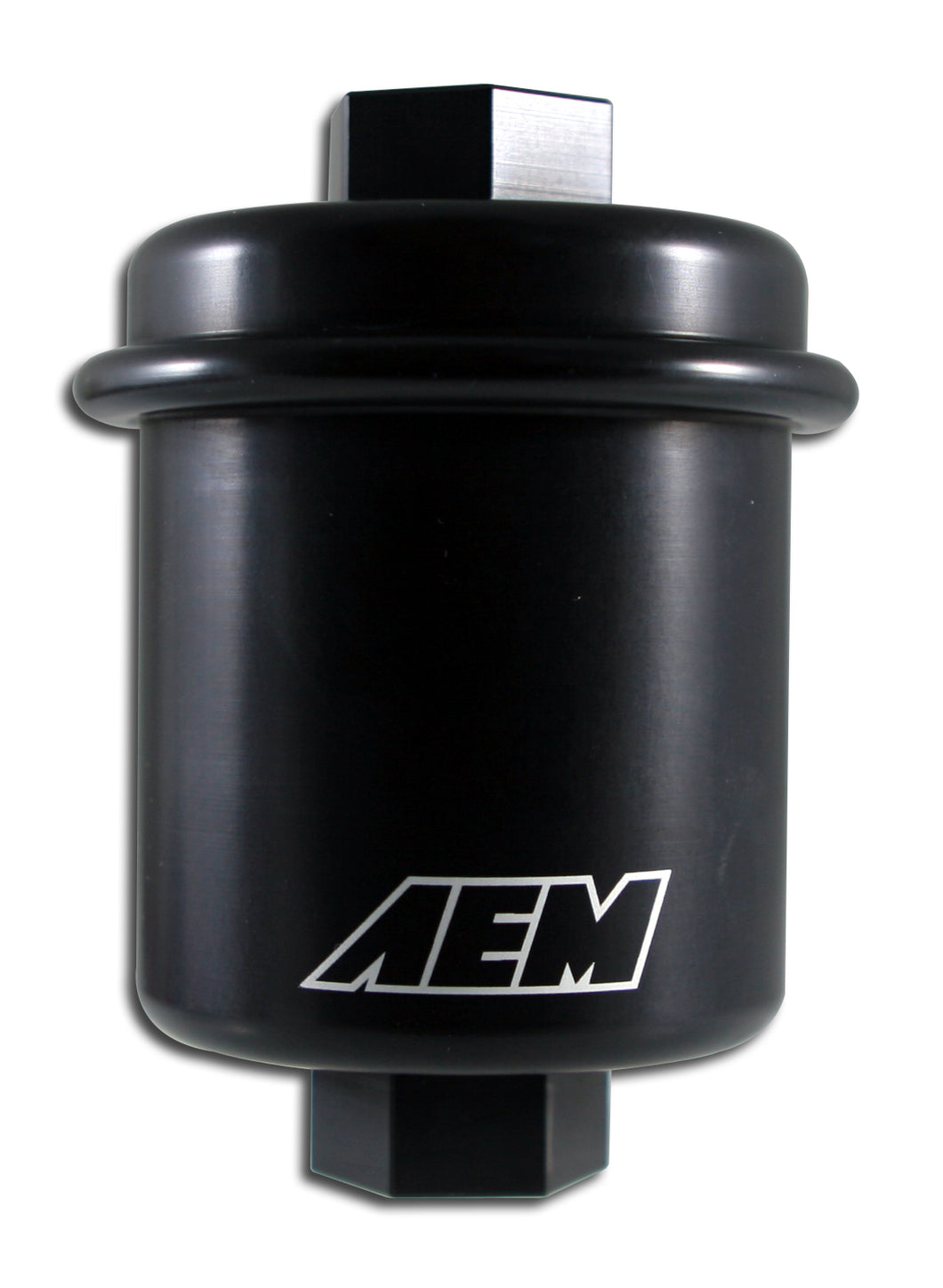High Volume Fuel Filter. Black. Acura & Honda. Inlet: 14mm X 1.5 Outlet: 12mm X 1.25