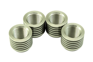 Stainless Tall Manifold Bung - 4 Pack