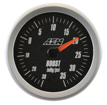 Load image into Gallery viewer, Analog Boost SAE Gauge. -30~35psi