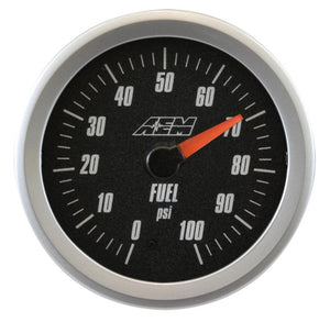 Analog Oil/Fuel SAE Pressure Gauge. 0~100psi