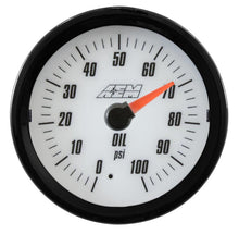 Load image into Gallery viewer, Analog Oil/Fuel SAE Pressure Gauge. 0~100psi
