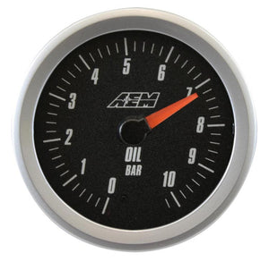 Analog Oil Metric Pressure Gauge. 0~10.2Bar