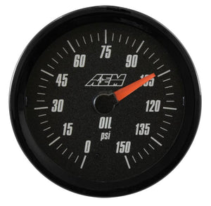 Analog Oil SAE Pressure Gauge. 0~150psi