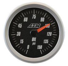 Load image into Gallery viewer, Analog Oil SAE Pressure Gauge. 0~150psi