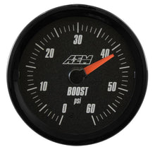 Load image into Gallery viewer, Analog Boost SAE Gauge. 0~60psi
