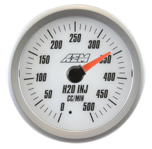 Analog H2O Flow Gauge. 0~500cc