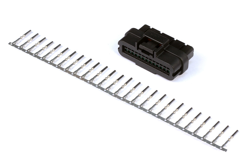 Plug and Pins Only - AMP 26 Pin 2 Row Superseal Connector