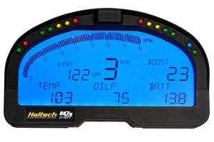 Haltech IQ3 Street Logger Dash 4GB 20 EFI + 32 V-NET + 6 Direct input channels