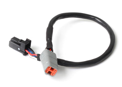 Haltech Elite CAN Cable DTM-4 to 8 pin Black Tyco LENGTH: 1800mm (72