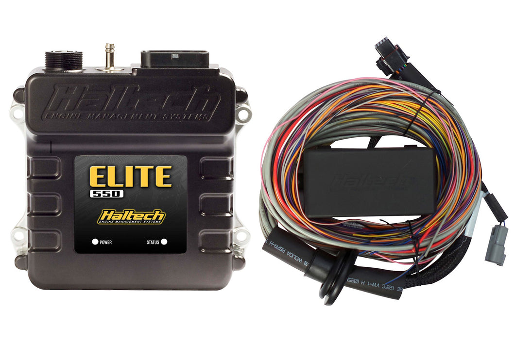 Elite 550 + Premium Universal Wire-in Harness Kit LENGTH: 5.0m (16')