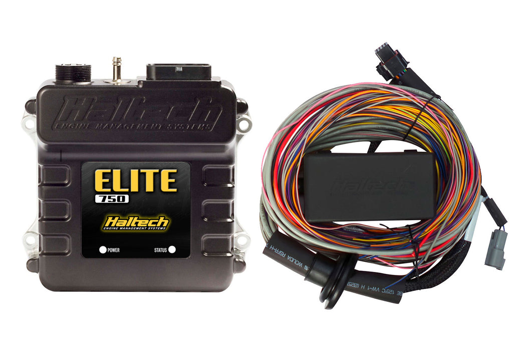 Elite 750 + Premium Universal Wire-in Harness Kit LENGTH: 5.0m (16')