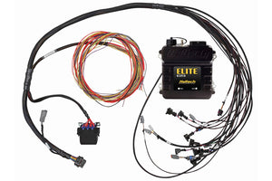 Elite 950 + V8 Small Block/ Big Block GM, Ford, Chrysler Terminated Harness Kit INJECTOR CONNECTOR: Bosch EV1