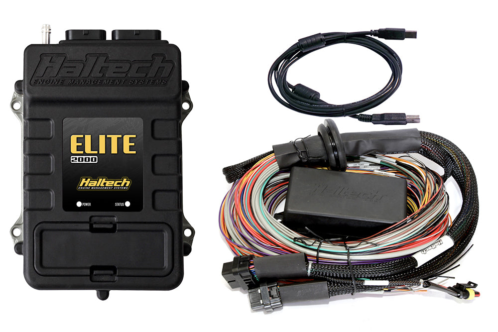 Elite 2000 + Premium Universal Wire-in Harness Kit LENGTH: 2.5m (8')