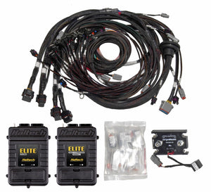 Elite 2500 & REM + 16 Inj V8 Small/Big Block GM, Ford & Chrysler Terminated Harness Kit INJECTOR CONNECTOR: Bosch EV1