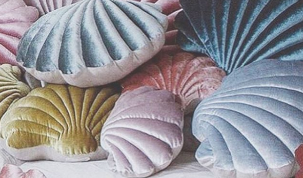 Adaptations Favorite: Shell pillows by Tamar Mogendorff