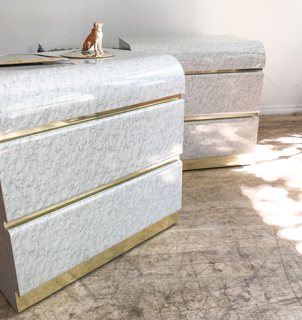 Speckle Nightstands