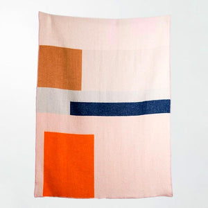 BAUHAUSED 2 Wool Blanket by Sophie Probst & Michele Rondelli