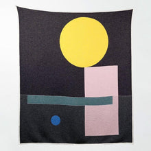 Load image into Gallery viewer, BAUHAUSED 6 Cotton Blanket/Throw by Sophie Probst