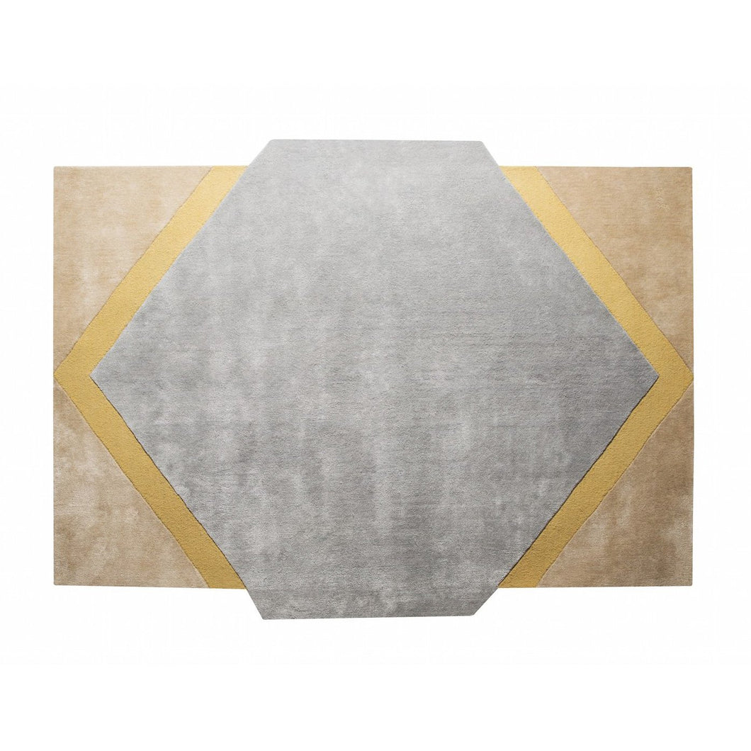 Blue Moon Rug by PIECES by an Aesthetic Pursuit