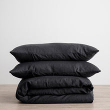 Load image into Gallery viewer, Cultiver Duvet Set - Black