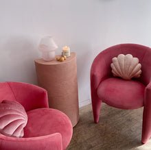 Load image into Gallery viewer, Coral Designer Suede Chairs