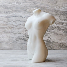 Load image into Gallery viewer, Hannah Female Figure Candle - Ivory