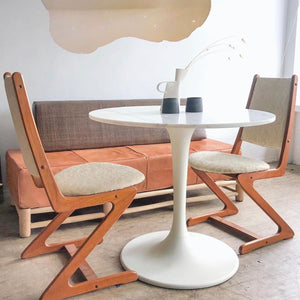 Ivory Marble Cafe Table