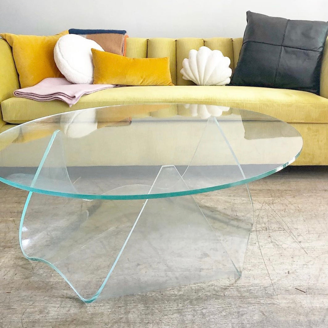 Glass Wave Table