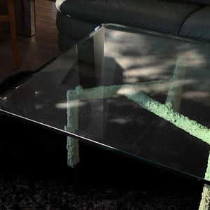 """At Home"" Crema Mint Coffee Table"