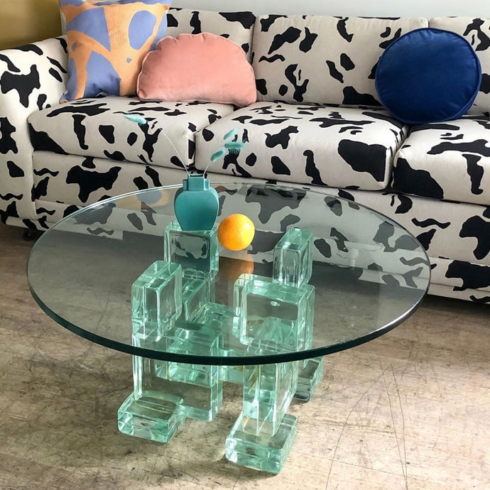 Structural Glass Coffee Table