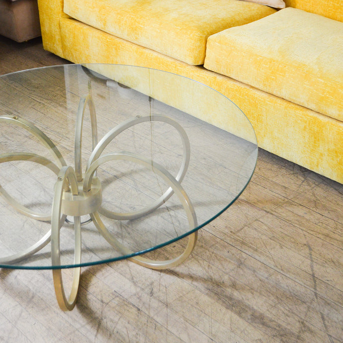 Milo Baughman Spider Brass Coffee Table