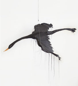 Flying Black Bird by Tamar Mogendorff
