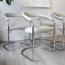 Load image into Gallery viewer, Vintage Anton Lorenz for Thonet Cantilevered Steel Chair