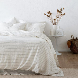 Cultiver Duvet Set - Pencil Stripe