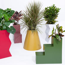 Load image into Gallery viewer, Cone Planter by PIECES by an Aesthetic Pursuit