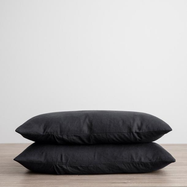 Cultiver Pillowcases - Black