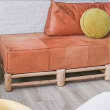 Load image into Gallery viewer, Moroccan Ottoman Bench